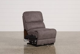 Norfolk Grey Armless Power Recliner
