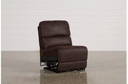 Norfolk Chocolate Armless Power Recliner