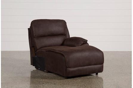 Norfolk Chocolate Raf Pushback Chaise - Main