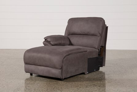 Norfolk Grey Left Facing Pushback Chaise
