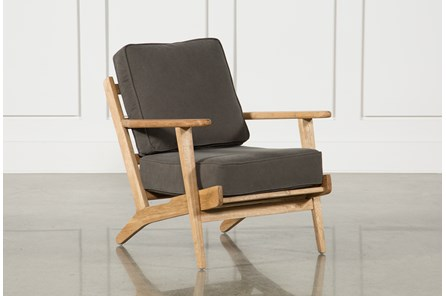 Halle Dark Green Lounge Chair