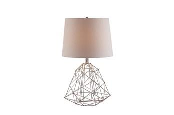 Table Lamp-Wire Web Antique Copper