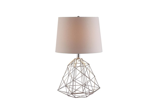 Table Lamp-Wire Web Antique Copper - 360