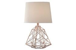 Table Lamp-Wire Web Copper