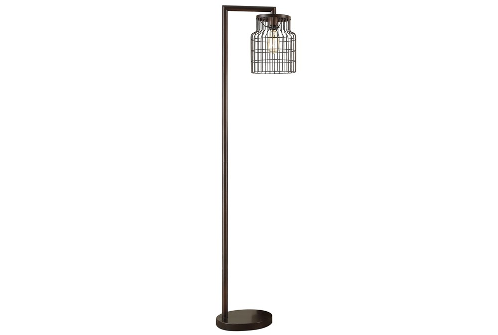 Floor Lamp-Farmhouse Antique Bronze
