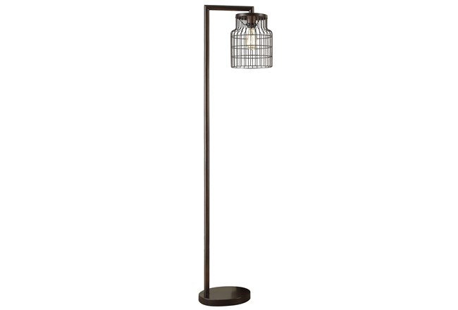 Floor Lamp-Farmhouse Antique Bronze - 360
