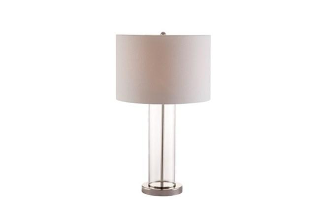 Table Lamp-Clear Column - 360