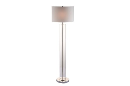 Floor Lamp-Clear Column