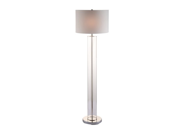Floor Lamp-Clear Column - 360