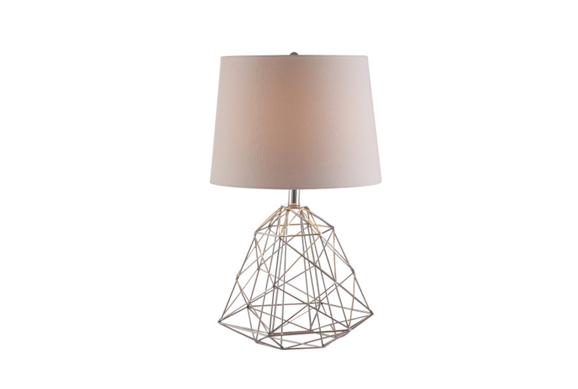 Table lamp wire web silver living spaces added to cart table lamp wire greentooth Gallery
