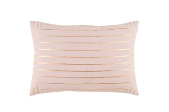 Accent Pillow-Linear Blush 19X13