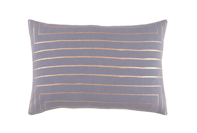 Accent Pillow-Linear Grey 19X13 - 360