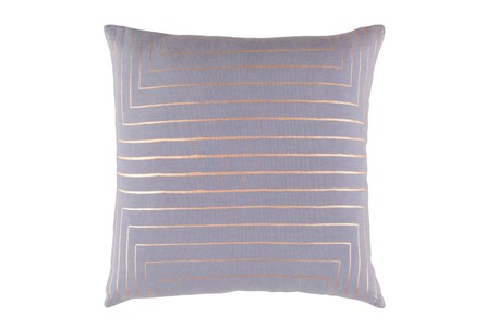Accent Pillow-Linear Grey 18X18