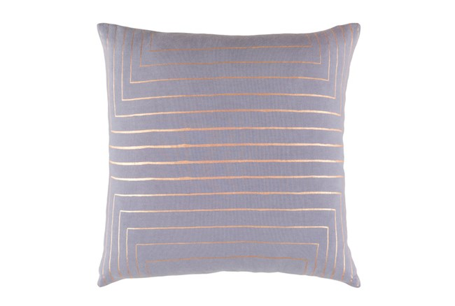 Accent Pillow-Linear Grey 18X18 - 360