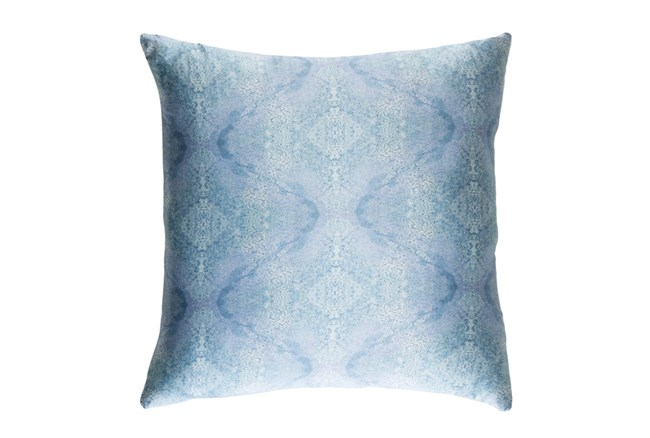 Accent Pillow-Tandy Watercolor Blue 18X18 - 360