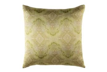 Accent Pillow-Tandy Watercolor Dark Green 18X18