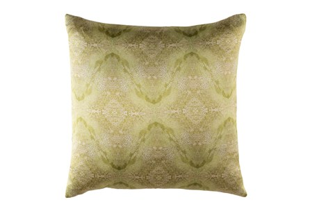 Accent Pillow-Tandy Watercolor Dark Green 18X18