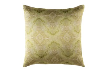 Accent Pillow-Tandy Watercolor Dark Green 20X20