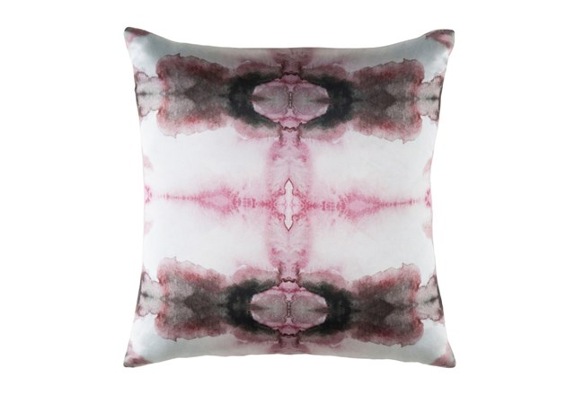 Accent Pillow-Kelsey Watercolor Pink 22X22 - 360