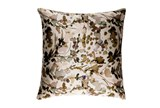 Accent Pillow-Watercolor Leaves Tan 22X22 - Signature