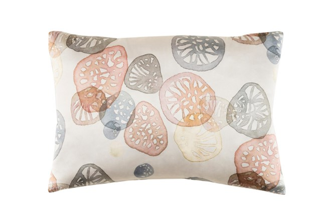 Accent Pillow-Watercolor Pod Blush 19X13 - 360