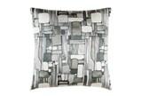 Accent Pillow-Watercolor Mosaic Grey 20X20 - Signature