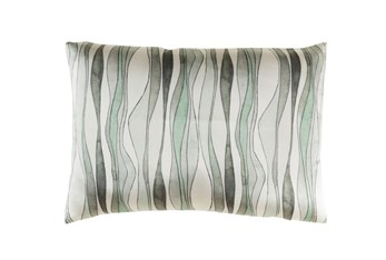 Accent Pillow-Watercolor Ribbons Mint 19X13