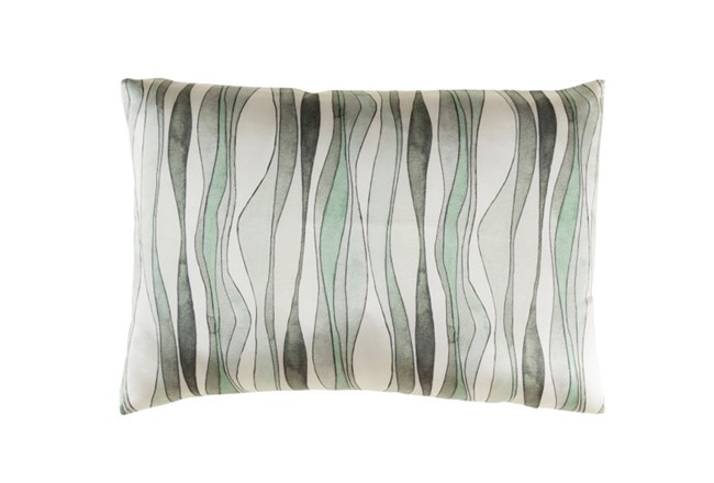 Accent Pillow-Watercolor Ribbons Mint 19X13 - 360