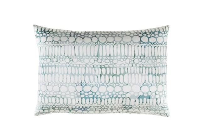 Accent Pillow-Watercolor Bubbles Aqua 19X13 - 360