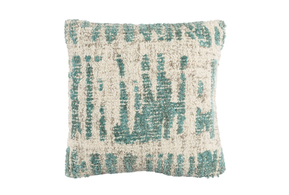 Accent Pillow-Aged Boucle Mint 20X20
