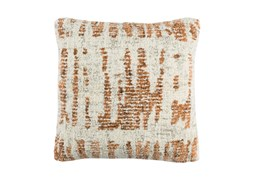 Accent Pillow-Aged Boucle Orange 20X20