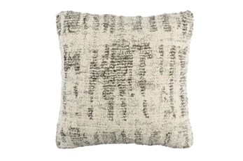 Accent Pillow-Aged Boucle Grey 20X20