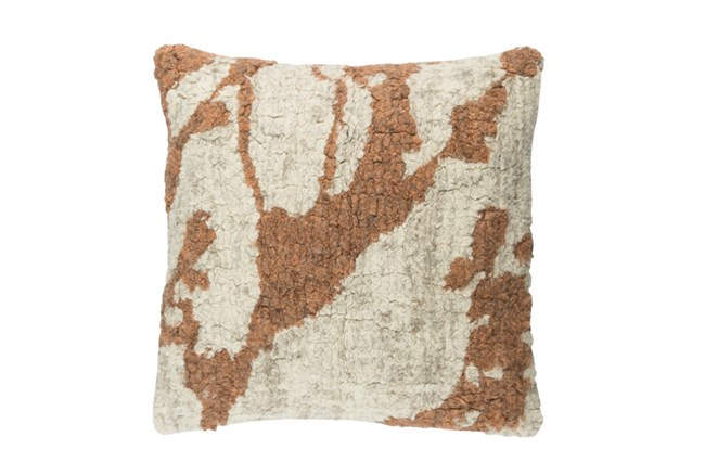 Accent Pillow-Washed Boucle Orange 20X20 - 360