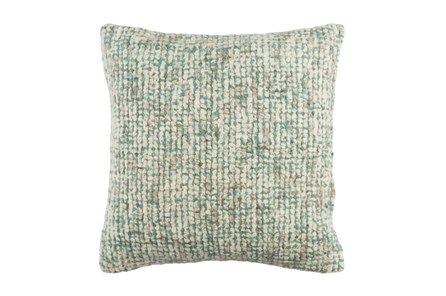 Accent Pillow-Stripe Boucle Mint 20X20 - Main