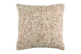 Accent Pillow-Stripe Boucle Orange 20X20
