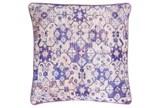 Accent Pillow-Berry Lace Medallion 20X20 - Signature