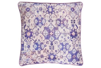 Accent Pillow-Berry Lace Medallion 20X20
