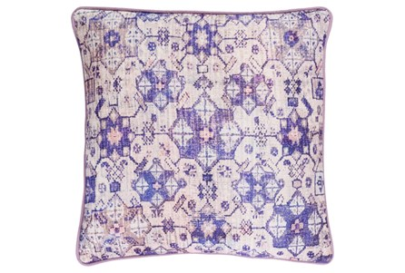 Accent Pillow-Berry Lace Medallion 20X20