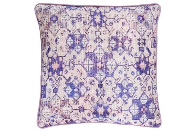 Accent Pillow-Berry Lace Medallion 20X20 - 360