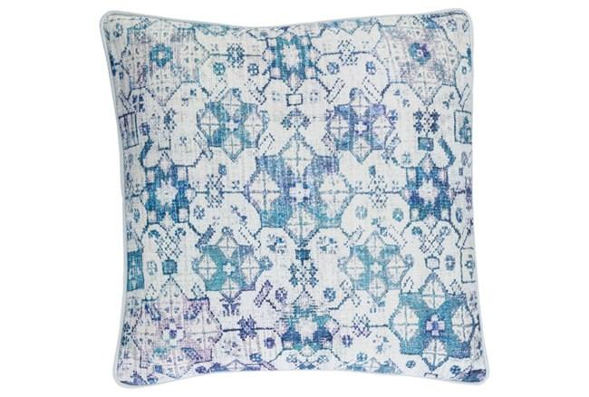 Accent Pillow-Denim Lace Medallion 20X20 - 360