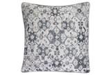 Accent Pillow-Black Lace Medallion 20X20 - Signature