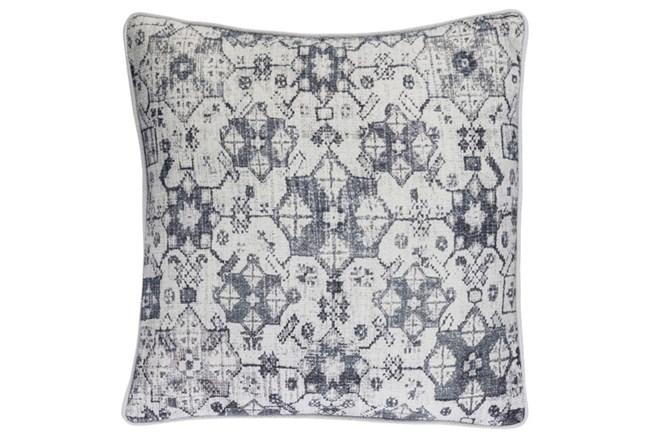 Accent Pillow-Black Lace Medallion 20X20 - 360