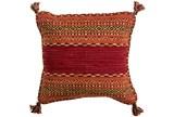 Accent Pillow-Orange Tassels 20X20 - Signature