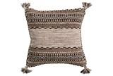 Accent Pillow-Mocha Tassels 18X18 - Signature