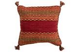 Accent Pillow-Orange Tassels 18X18 - Signature
