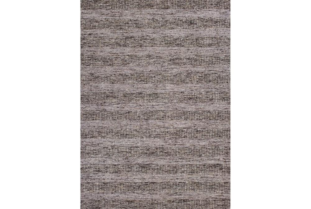 27X45 Rug-Heather Stripe Taupe