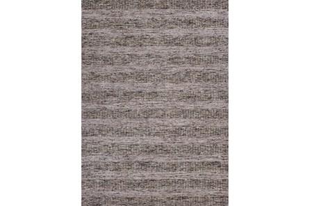 96X120 Rug-Heather Stripe Taupe