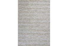 39X63 Rug-Heather Stripe Ivory