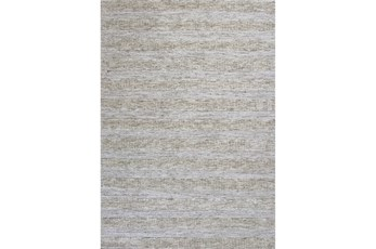 27X45 Rug-Heather Stripe Ivory