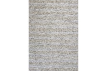 27X45 Rug-Heather Stripe Ivory